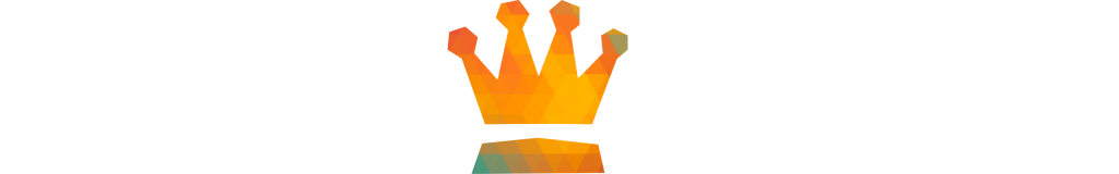 Logo Creative Kingdoms wit centered