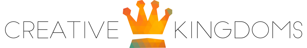 Logo Creative Kingdoms zwart centered